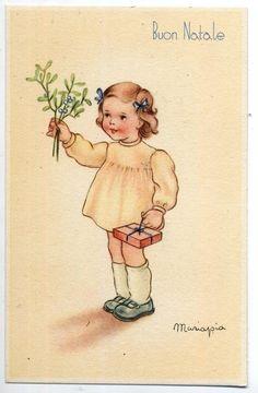 🌹MARIAPIA Bambina c 1940 ITALY🌹