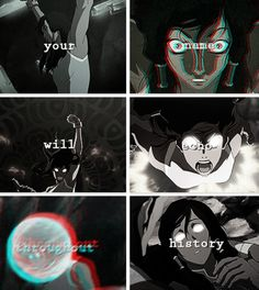 Legend of Korra: your name will echo throughout history