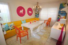 David Bromstad dining room
