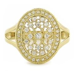 Bella's Twilight Inspired Engagement Ring in Gold