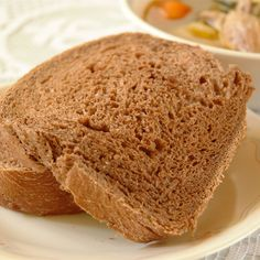 Pumpernickel Rye Bread - This is a hearty bread. Mix it in the bread machine (or stand mixer) but bake it in the oven. I recommend baking in the oven instead of the machine because the loaf is fuller and the top is much nicer. I hope you enjoy it. Sweet Rye Bread Recipe, Rye Bread Recipes, Bread Machine Recipes, Rye Flour, Whole Grain Bread, Corned Beef, How To Make Bread, Bread Making, Bread Rolls