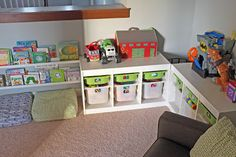 cute toy storage   Delicious Spaces: Toy Storage Solutions