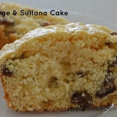 This week's trip down memory lane is a SUPER quick and easy orange and sultana cake which takes no time at all to put together. Easy Cake Recipes, Sweet Recipes, Baking Recipes, Snack Recipes, Muffin Recipes, Snacks, Sultana Recipe, Fruit Loaf Recipe, Sultana Cake