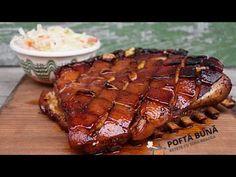 Piept de porc cu os (la cuptor), reteta pas cu pas - YouTube Pork Recipes, Healthy Recipes, Healthy Food, Kebab, Romanian Food, I Foods, Steak, Food Porn, Mariana