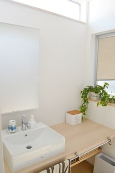 * web内覧会 洗面室・バスルーム * めがねとかもめと北欧暮らし