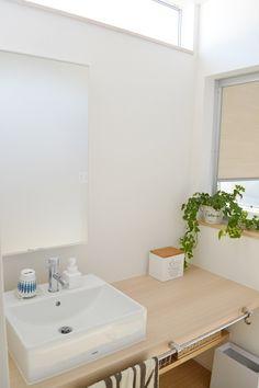 * web内覧会 洗面室・バスルーム *|めがねとかもめと北欧暮らし