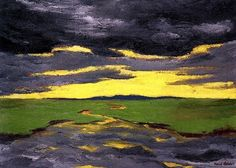 Twilight  Emile Nolde - 1916