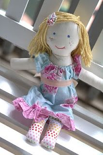 Cute rag doll tutorial
