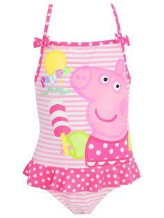 a31d7e120be3e Peppa Pig Swimsuit Peppa Pig Swimming, Girls Swimming, Peppa Pig Shows, Peppa  Pig
