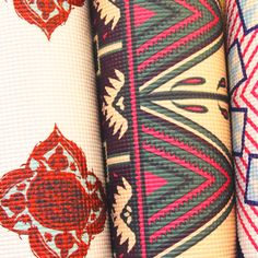 We're ready for our closeup with La Vie Boheme Yoga printed yoga mats