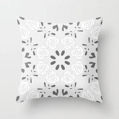 Buy Pillows, Throw Pillows, Cozy House, Textiles, Bright, Rose, Pattern, Decor, Toss Pillows