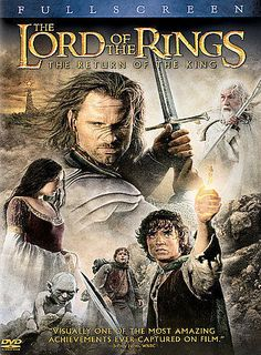 The Lord of the Rings: The Return of the King (DVD, 2004, 2-Disc Set, Full-Scree #Newline