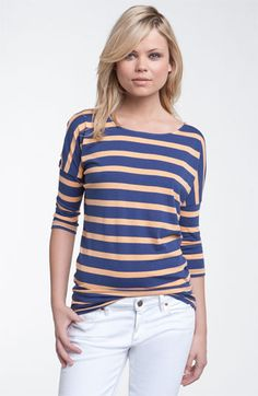 Stem Twist Back Dolman Top