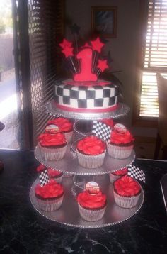this is a repeat design of my sons cake, for a little boys first birthday...
