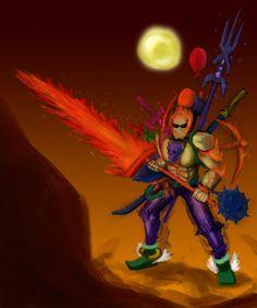 deviantART: More Like Molten Fury - Terraria Fanart by Hellbeholder