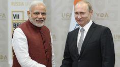 """Primer ministro de la India: """"Putin posee el raro talento de sacrificarse por un amigo"""""""