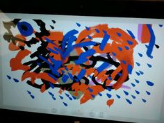 Pepap's painting in the Microsoft store.