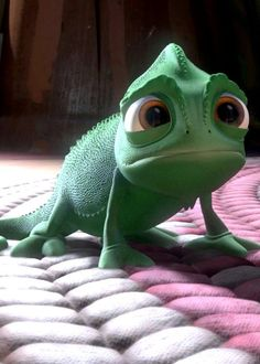Pascal, the cutest character created by Disney ever :D
