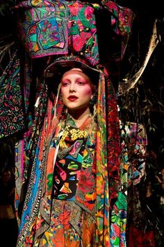 """jessisnaps: """" Jenny Kee collection at MBFWA Image by Jessi White. Jenny Kee, Portrait Photography, Fashion Photography, Bohemian Soul, Bad Picture, Bold And The Beautiful, Saturated Color, Woman Painting, Mixing Prints"""