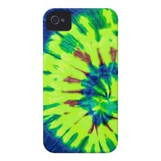 Peace Tie Dye 60s Hippy Love Case-Mate iPhone 4 Cases