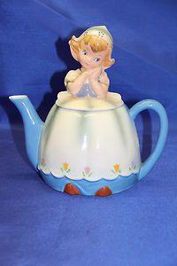 dutch girl teapot   Lefton Dutch Girl Tea Pot EXCELLENT CONDITION #2699   eBay