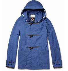YMC Gloverall Waxed-Cotton Duffle Jacket | MR PORTER