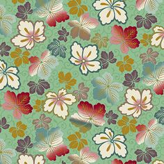 The Quilted Fox International Quilt Fabric Quilts, Green, Fabric, Metallic Gold, Tejido, Tela, Quilt Sets, Cloths, Fabrics