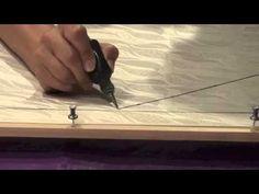 Silk Painting:  How to Apply Gutta to Silk.  Pamela Glose, November 2013 video blog.  www.MySilkArt.com.