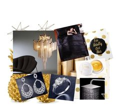 """""""Home luxe"""" by tichia-b on Polyvore featuring interior, interiors, interior design, hogar, home decor, interior decorating, Kate Spade, ferm LIVING y Uttermost"""