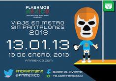 #NoPantsMX 2013 - Chilanga Banda #Mexico