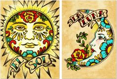 """Tophatter : Nine Signed Art Prints 5"""" x 7"""" - Tattoo / Mexican Lo..."""