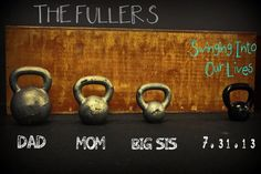 Our CrossFit pregnancy announcement I made