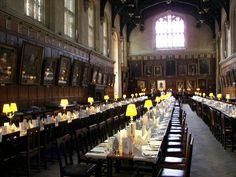 Christ Church Oxford Hall 2007 - ホグワーツ魔法魔術学校 - Wikipedia