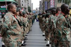 SA: Remembrance Day in Johannesburg