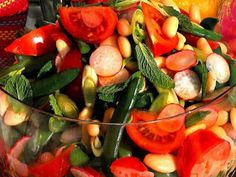 Receta Entrante : Ensalada de legumbres y hortalizas aromatizada por Javier zgz