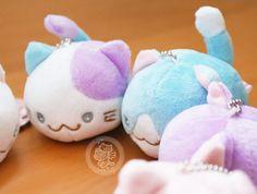 Un accessoire strap kawaii en forme de petit chat tout rond et tout doux pour décorer par tout !! =^w^=  **Importé du Japon - boutique kawaii en ligne chezfee.com