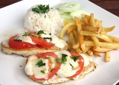 Krabi, Caprese Salad, Mozzarella, Ham, Chicken Recipes, Food And Drink, Menu, Meat, Insalata Caprese