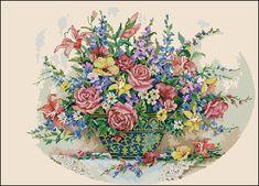 """Сачать схему вышивки """"Floral grandeur"""""""