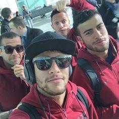 """""""Partindo pra Madrid ✈️"""