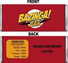 Big Bang Theory Party Supplies