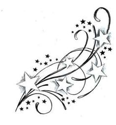 Shooting Star Tattoos