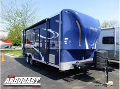 Great color!  2015 Forest River Work and Play 18EC FOR SALE in Troy, OH - $19,985 - RVTrader.com #traveltrailer #rvforsale