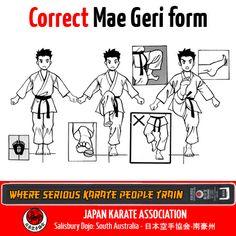 Correct Kick #JKA #Karate