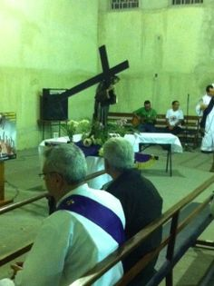 Procissão do Encontro - Capela N. Sra. Estrela da Evangelização e Beato João Paulo II