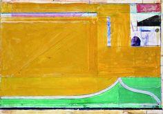 Diebenkorn, Richard    Untitled (Ocean Park #13)    Gouache and acrylic on paper