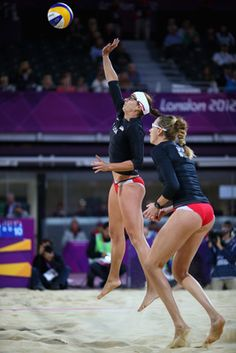 Misty May-Treanor and Kerri Walsh are the greatest women's beach volleyball team of all time, and no one can say anything different. The team won 89 consecutive professional matches between 2003 and 2004 and never dropped a single set on its way to Olympic gold in both Athens and Beijing.