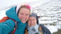 Sommeranfang 2015 auf 1.800 Höhenmeter. Wir brauchen keine Sonne, wozu gibt es Goretex und Raincover? :-P