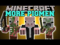 Minecraft: MORE ZOMBIE PIGMEN (GIANTS, VAMPIRES, FOOD THIEVES, & MORE!) Mod Showcase - YouTube