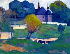 The Athenaeum - A Polish Church, Mydlow (Robert Bevan - circa 1921) Visiting his wife's homeland.