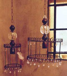 Chandelier, Lamp, Candle Lamp, Lamp Decor, Cool Lighting, Rope Lamp, Lantern Lamp, Idea Creativas, Lights